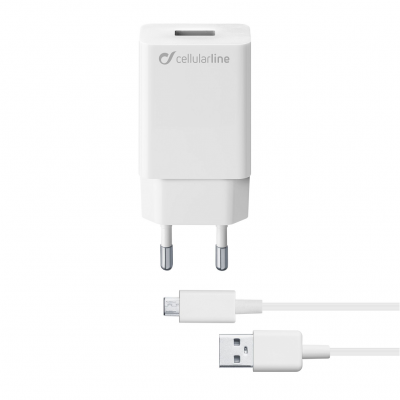 CELLULAR LINE 304026 ACHSMKIT10WMUSBW Charger Kit Samsung 10W MUSB White