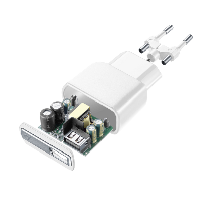 CELLULAR LINE 226861 ACHUSBMUSB2AW Charger Kit Huawei&C 2A MUSB White