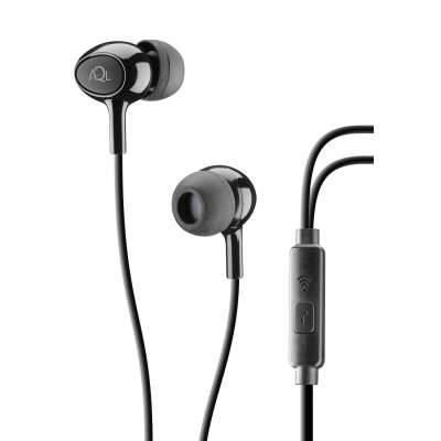 CELLULAR LINE 291999 ACOUSTICK ACOUSTIC Black In-Ear Earphones With Mic