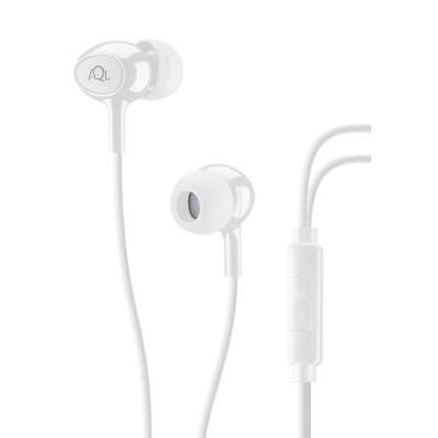 CELLULAR LINE 292019 ACOUSTICW ACOUSTIC White In-Ear Earphones With Mic