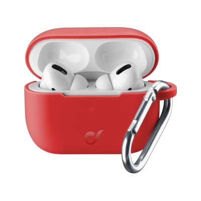 CELLULAR LINE 371806 BOUNCEAIRPODSPROR Case airPods Pro Red
