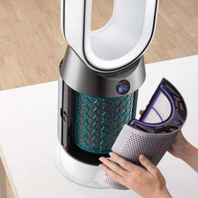 DYSON 286390-01 HP04 Pure Hot+Cool Link White