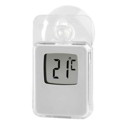 HAMA 176934 (S) WINDOWTHERMOMETER IN/OUT WHITE