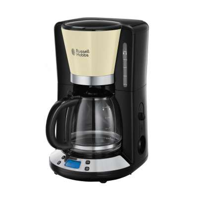 RUSSELL HOBBS 24033-56 Colours Plus Classic Cream Coffee Maker