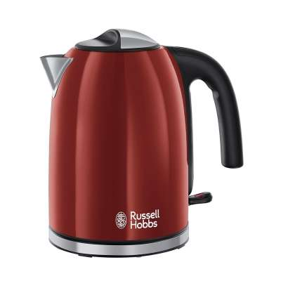 RUSSELL HOBBS 20412-70 Colours Plus Flame Red Kettle
