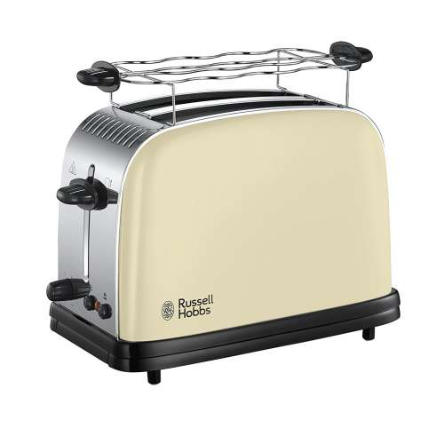 RUSSELL HOBBS 23334-56 Colours Classic Cream Toaster