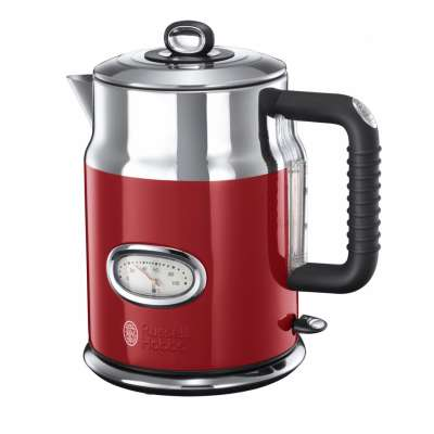 RUSSELL HOBBS 21670-70 Retro Ribbon Red Kettle
