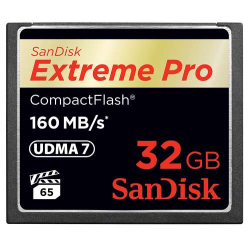 SanDisk Compact Flash Extreme Pro 32 GB