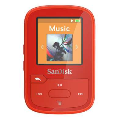 SanDisk MP3 Player Clip Sport Plus Red